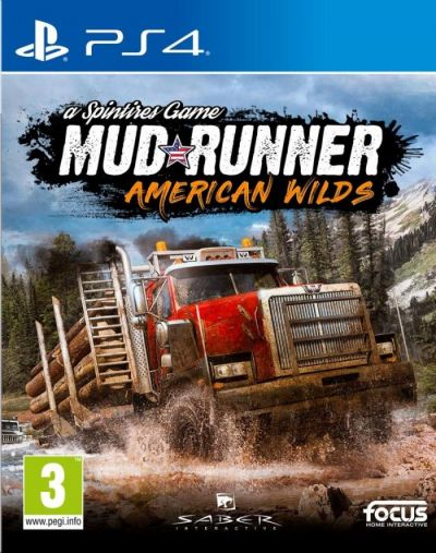 SPINTIRES MUDRUNNER AMERICAN WILDS EDITION - PS4