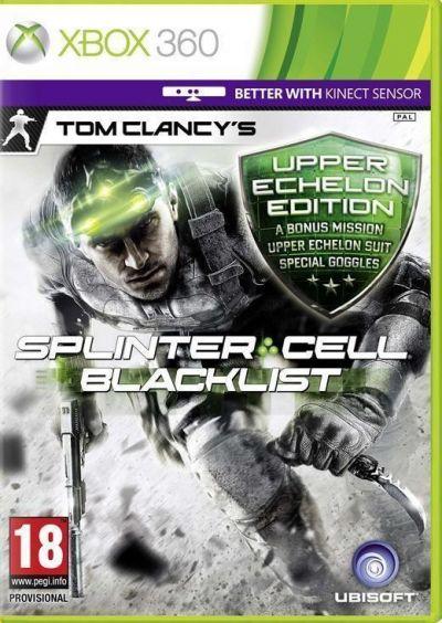 SPLINTER CELL BLACKLIST UPPER ECHELON EDITION - XBOX360