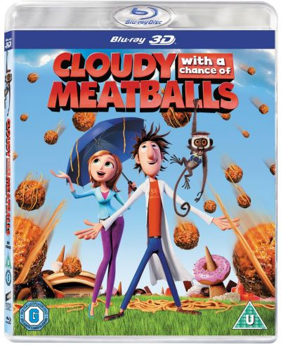 Sta sa ploua cu chiftele / Cloudy with a Chance of Meatballs - BD 3D+2D