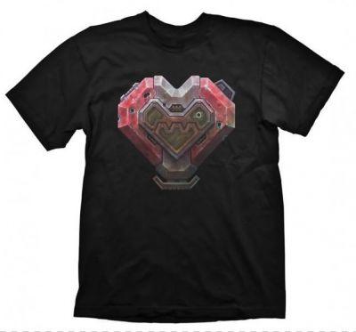 STARCRAFT 2 TERRAN HEART TSHIRT L
