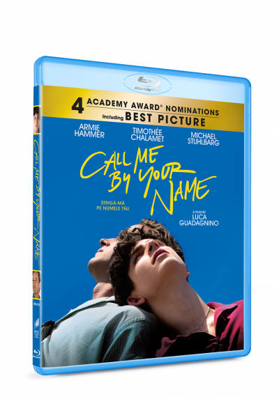 Striga-ma pe numele tau / Call Me By Your Name - BLU-RAY
