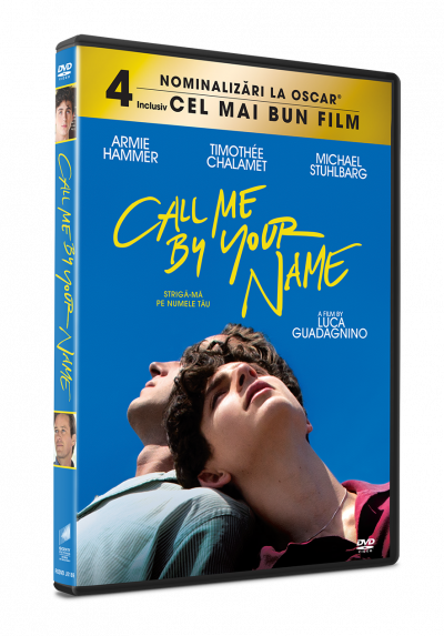 Striga-ma pe numele tau / Call Me By Your Name - DVD