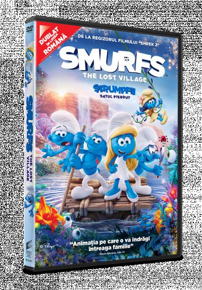 Strumpfii (Strumfii): Satul pierdut / Smurfs: The Lost Village - DVD