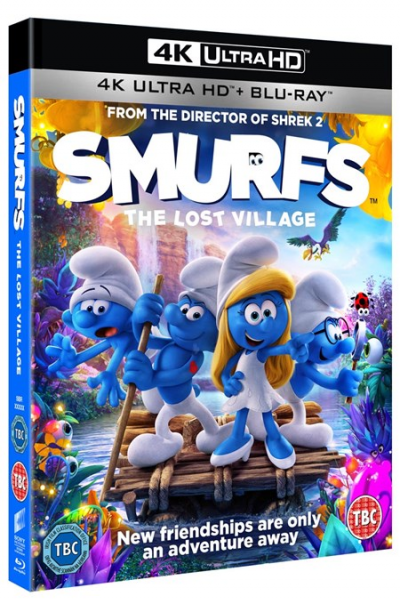 Strumpfii (Strumfii): Satul pierdut / Smurfs: The Lost Village - BD 2 discuri (4K Ultra HD + Blu-ray)