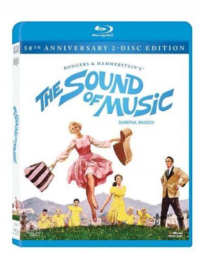 Sunetul muzicii / The Sound of Music (Editie aniversara - 50 de ani - 2 discuri) - BLU-RAY