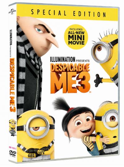 Sunt un mic ticalos 3 / Despicable Me 3 - DVD