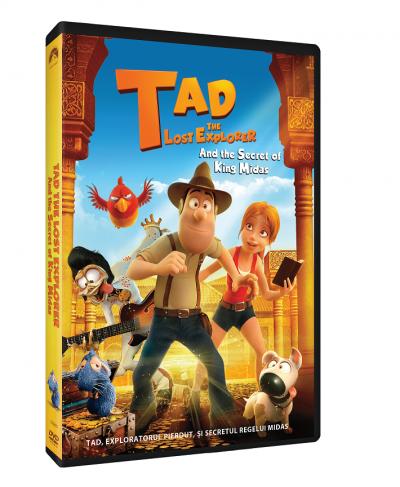 Tad, Exploratorul pierdut si secretul Regelui Midas / Tad the Lost Explorer and the Secret of King Midas - DVD