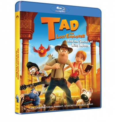 Tad, Exploratorul pierdut si secretul Regelui Midas / Tad the Lost Explorer and the Secret of King Midas - BLU-RAY