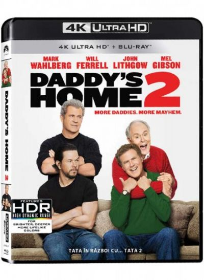 Tata in razboi cu... tata 2 / Daddy's Home 2 - UHD 2 discuri (4K Ultra HD + Blu-ray)