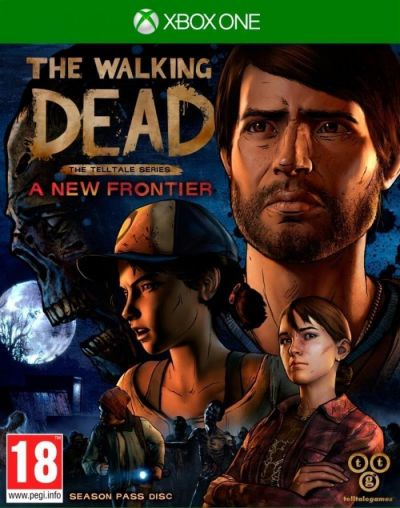 TELLTALE THE WALKING DEAD A NEW FRONTIER - XBOX ONE