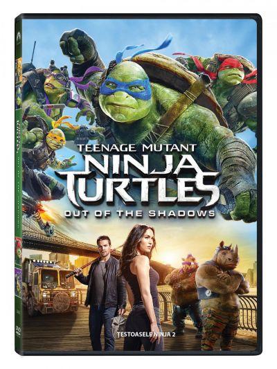Testoasele Ninja 2 / Teenage Mutant Ninja Turtles 2: Out of the Shadows - DVD