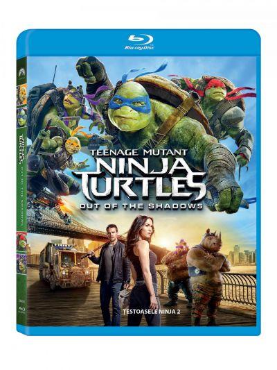 Testoasele Ninja 2 / Teenage Mutant Ninja Turtles 2: Out of the Shadows - BLU-RAY