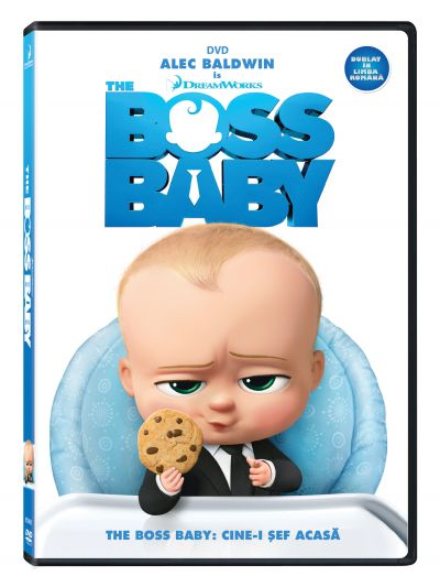 The Boss Baby: Cine-i sef acasa? - DVD