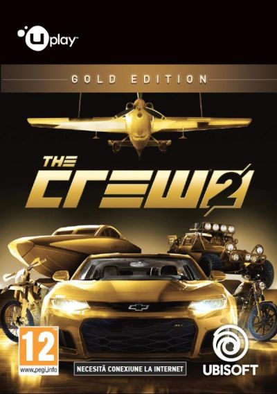 THE CREW 2 GOLD EDITION - PC (UPLAY CODE)