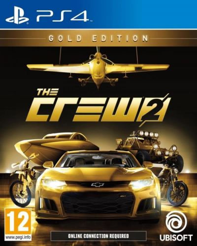 THE CREW 2 GOLD EDITION - PS4