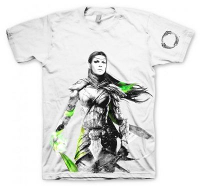 THE ELDER SCROLLS ONLINE ELF TSHIRT M