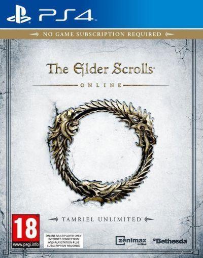 THE ELDER SCROLLS ONLINE TAMRIEL UNLIMITED - PS4