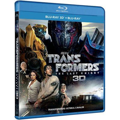 Transformers 5: Ultimul Cavaler / Transformers: The Last Knight - BD COMBO (3D+2D)