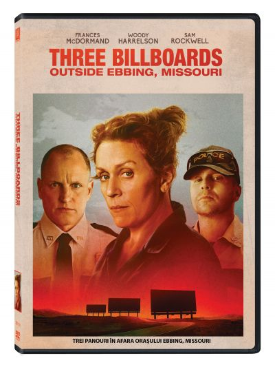 Trei panouri in afara orasului Ebbing, Missouri / Three Billboards Outside Ebbing, Missouri - DVD