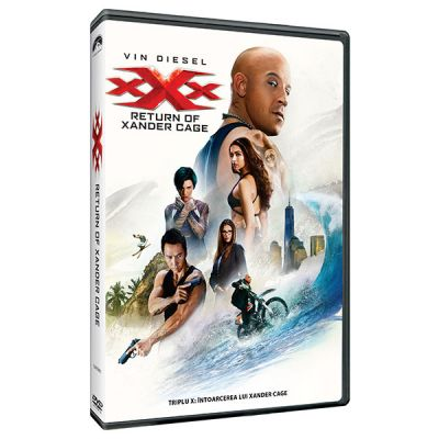 Triplu X 3: Intoarcerea lui Xander Cage / XXX: The Return of Xander Cage - DVD
