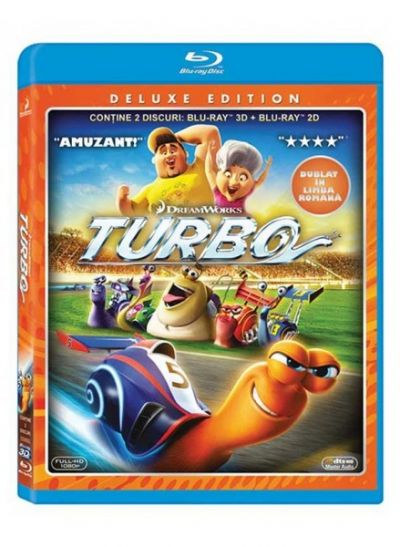 Turbo - BLU-RAY combo 2D + 3D