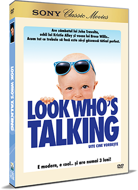 Uite cine vorbeste / Look Who s Talking - DVD