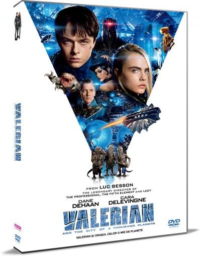 Valerian si Orasul Celor o Mie de Planete / Valerian and the City of a Thousand Planets - DVD