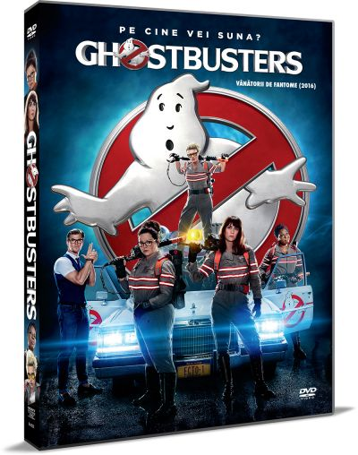 Vanatorii de fantome / Ghostbusters (2016) - DVD