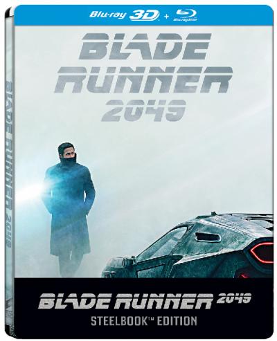 Vanatorul de recompense 2049 / Blade Runner 2049 - BLU-RAY 3D + 2D (Steelbook)