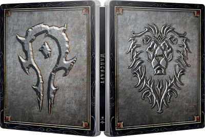 Warcraft: Inceputul / Warcraft: The Beginning - BLU-RAY 2 discuri (BLU-RAY 3D + 2D) (Steelbook editie limitata)