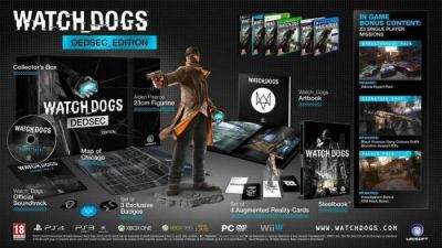WATCH DOGS DEDSEC EDITION - XBOX360