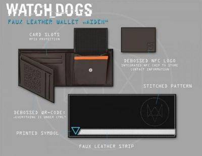 WATCH DOGS HACKER NFC WALLET