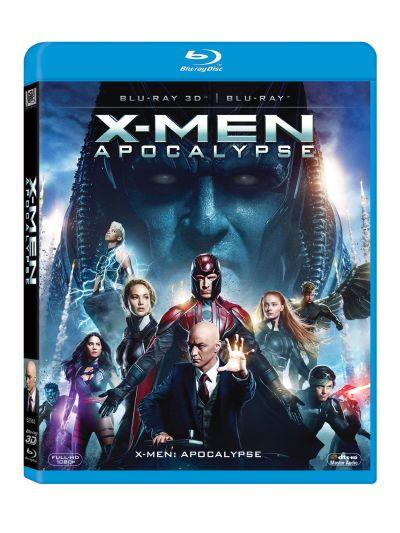 X-Men: Apocalypse - BLU-RAY combo (3D+2D)