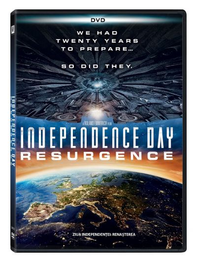 Ziua Independentei 2: Renasterea / Independence Day: Resurgence - DVD