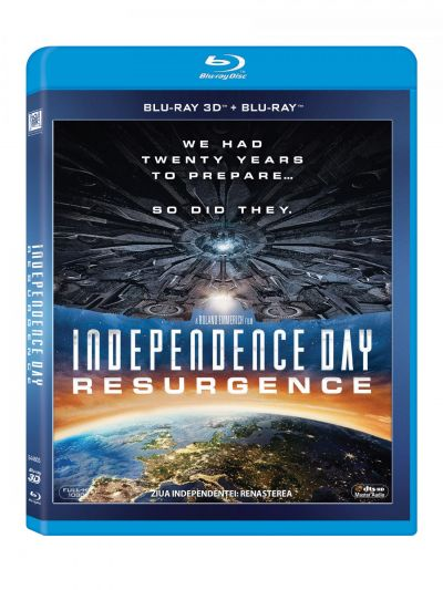Ziua Independentei 2: Renasterea / Independence Day: Resurgence - BLU-RAY 3D + 2D
