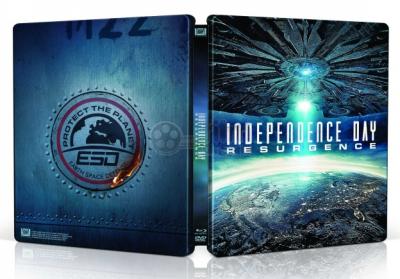 Ziua Independentei 2: Renasterea / Independence Day: Resurgence - BLU-RAY 3D + 2D (Steelbook)