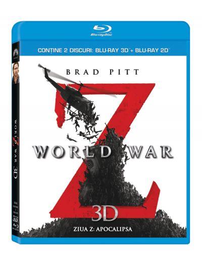 Ziua Z: Apocalipsa / World War Z - BLU-RAY combo (2D+3D)
