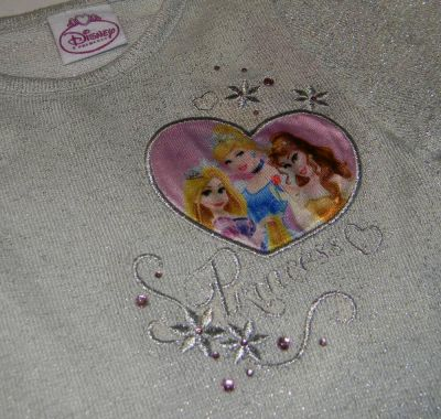 Bluza ML Princess -Gri Gri 3 ani(98cm)