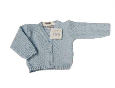 Bluza tricotata bebe-Bleu