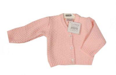 Bluza tricotata bebe-Roz