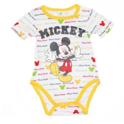 Body MS Mickey bebe-Galben