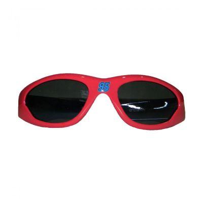 Ochelari soare baieti  Cars - Rosu