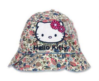 Palarie Heloo Kitty-Bej/Albastru