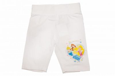 Pantalon scurt Princess-Alb Alb 4ani(104cm)