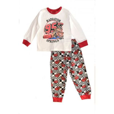 Pijama ML CARS -Alb Alb 6ani(116cm)