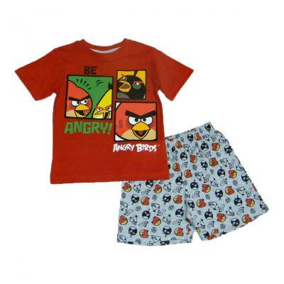 Pijama MS Angry Birds -Rosu Rosu 8ani(128cm)