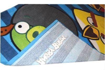 Prosop plaja Angry Birds