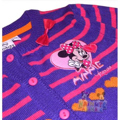 Pulover Minnie -Mov Mov 8ani(128cm)