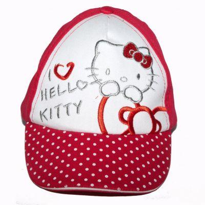 Sapca Hello Kitty-Rosu Rosu 52cm (3-5ani)