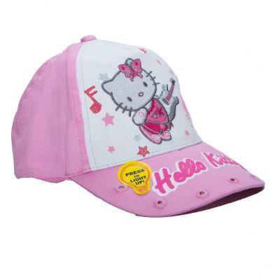 Sapca Kitty-Roz Roz 52cm (3-5ani)